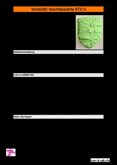 DrugsData.org (formely EcstasyData) Test Details  Result