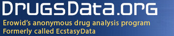 DrugsData.org (formerly EcstasyData)